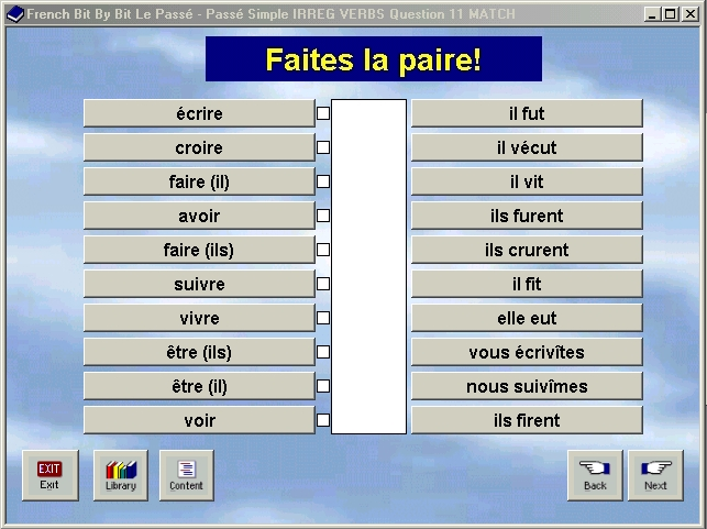 French Software or Spanish Software with spoken French or Spanish ...